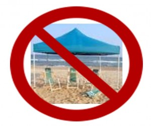 no beach tent photo