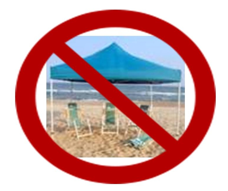 North Myrtle Beach Tent Rules